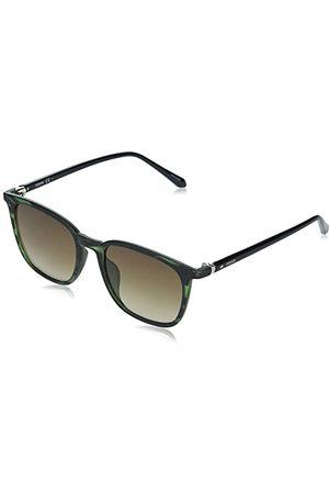Fossil Mężczyzna Okulary przeciwsłoneczne - Męskie okulary przeciwsłoneczne FOS 3091/S Green Hrn, 53