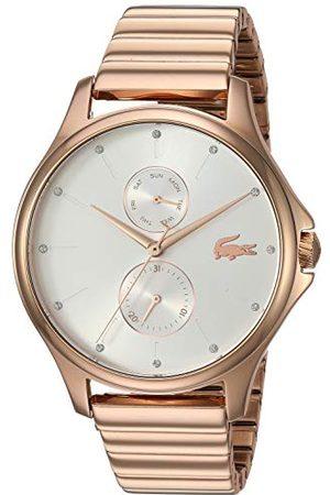Lacoste Uniseks-dorosły wielofunkcyjny zegarek kwarcowy z paskiem ze stali nierdzewnej 2001027