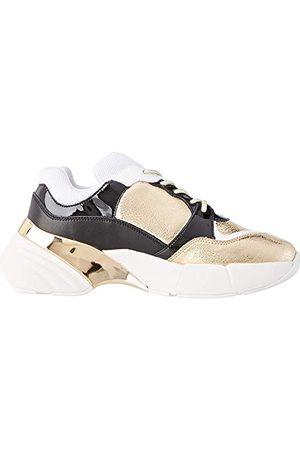 Pinko Damskie buty sportowe Olivo Slip On Sneaker, wielokolorowa - Mehrfarbig Argento Nero Iz2-40 EU