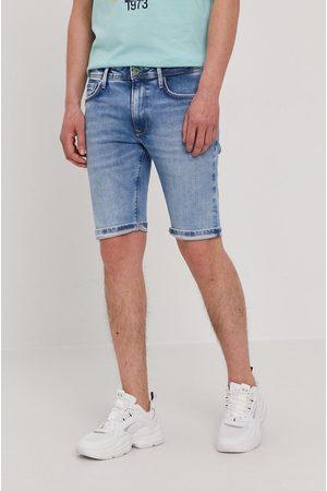 Pepe Jeans Szorty jeansowe Stanley