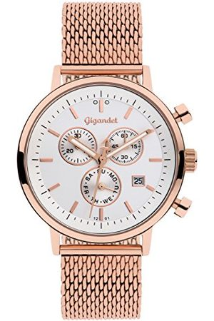 Gigandet G6 – 014 – zegarek ze stali nierdzewnej, kolor paska: różowe złoto