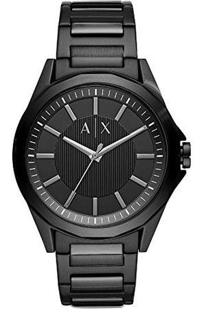 Armani Męski analogowy zegarek kwarcowy bransoletka jeden rozmiar Silver
