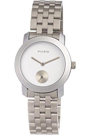 Pilgrim Damski analogowy zegarek kwarcowy z bransoletką ze stali szlachetnej 701616020
