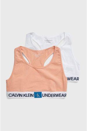Calvin Klein Dziewczynka Biustonosze i Gorsety - Biustonosz dziecięcy (2-pack)