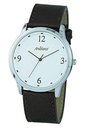 ARABIANS Męski analogowy zegarek kwarcowy ze skórzanym paskiem HBA2249M