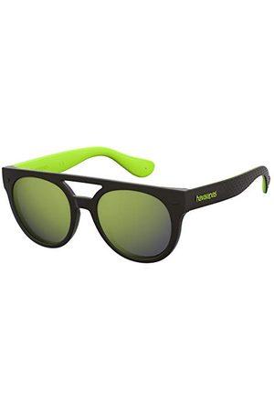 Havaianas Unisex buzios okulary przeciwsłoneczne, black green, 53