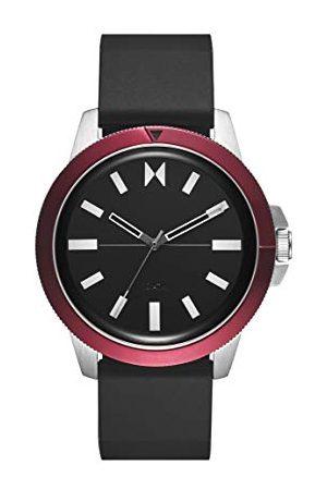 MVMT Męski analogowy zegarek kwarcowy z silikonową bransoletką 2800073-D
