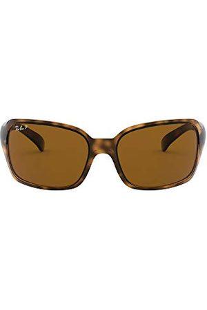 Ray-Ban Okulary przeciwsłoneczne - Ray Ban Unisex okulary przeciwsłoneczne RB4068, rozm. X-Large (rozmiar producenta: 60), brązowe (podstawa: Havana, Szkła: polaryzacyjne brązowe klasyczne 642/57)
