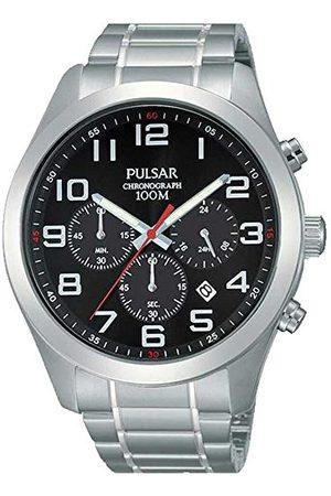 Pulsar Zegarek kwarcowy z bransoletką ze stali szlachetnej 8431242273075