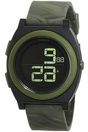 Nixon Kobieta Zegarki - Damski zegarek na rękę Time talerz Digi Marbled Camo cyfrowy kwarcowy silikon A4171727-00
