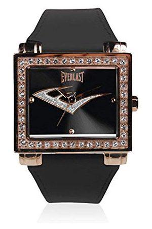 Everlast Uniseks dla dorosłych analogowy zegarek kwarcowy ze skórzanym paskiem EVER33-206-004