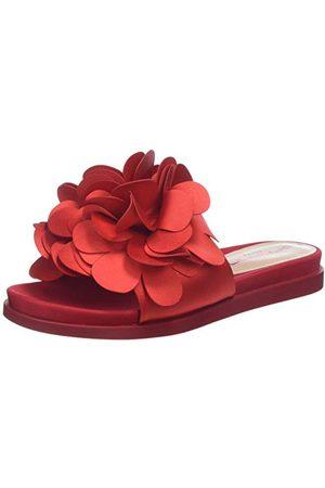 Fornarina Flower1 sandały damskie Peeptoe, - Rot Rosso - 37 EU