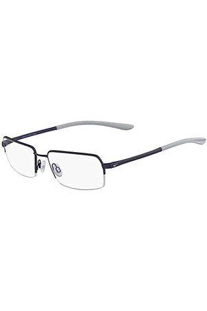 Nike Mężczyzna Okulary przeciwsłoneczne - Męskie 4284 413 54 oprawki okularów, szare (satyna granatowa/Wolf Grey)