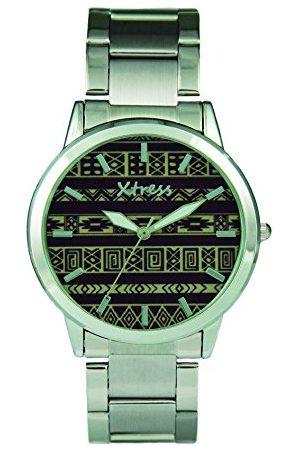 XTRESS Męski analogowy zegarek kwarcowy z bransoletką ze stali szlachetnej XAA1032-50