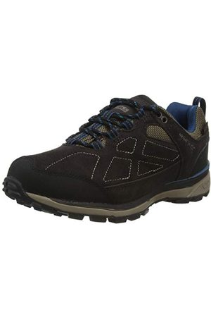 Regatta Kobieta Buty trekkingowe - Damskie buty trekkingowe Lady Samaris Suede Low, brązowy - Torf Marokański błękit - 36 EU