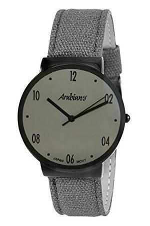 ARABIANS Męski analogowy zegarek kwarcowy z bransoletką z materiału HNA2236G