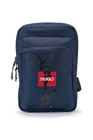HUGO BOSS Mężczyzna Plecaki - Record KJ_Monostrap plecak, - Navy411. - jeden rozmiar
