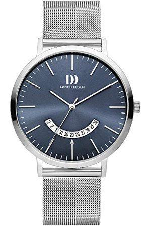 Danish Design Męski analogowy zegarek kwarcowy z bransoletką ze stali szlachetnej IQ68Q1239
