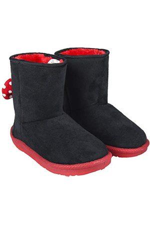 Artesanía Botas Casual Minnie dziewczęce buty wsuwane, - Schwarz Negro C02-33 EU