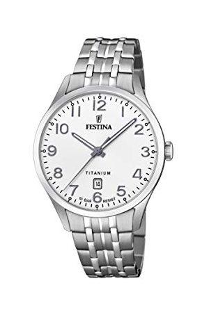 Festina F20466/1 męski analogowy zegarek kwarcowy z bransoletką tytanową