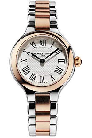 Frederique Constant Damski analogowy Swiss kwarcowy zegarek z bransoletką ze stali szlachetnej FC-200M1ER32B