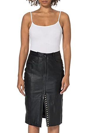 GOOSECRAFT Kobieta Spódnice skórzane - Damski kombinezon Cezanne Leather Skirt