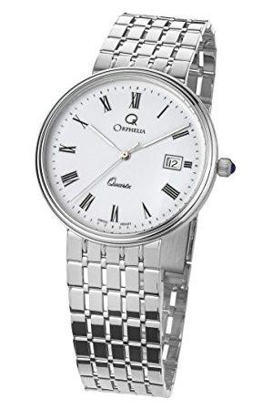 ORPHELIA Mężczyzna Zegarki - Męski analogowy zegarek kwarcowy z białym złotem MON-7080/1