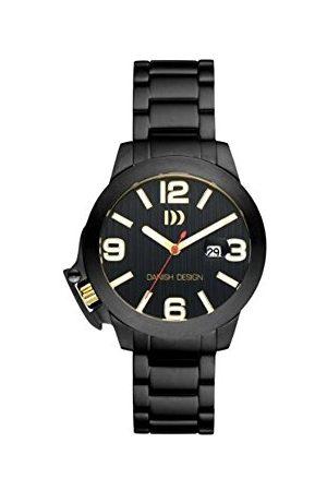 Danish Design Męski analogowy zegarek kwarcowy z bransoletką ze stali szlachetnej IQ64Q915