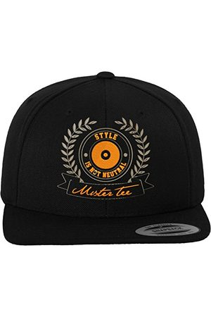 Mister Tee Unisex S.I.N.N. czapka snapback, czarna, jeden rozmiar