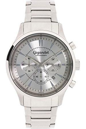 Gigandet Mężczyzna Zegarki - Męski zegarek chronograf z bransoletką ze stali szlachetnej G48-005