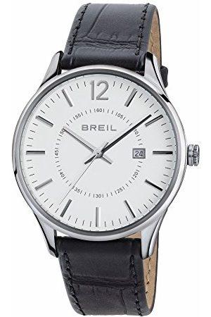 Breil Damski analogowy zegarek kwarcowy ze skórzanym paskiem TW1562