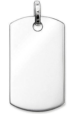Thomas Sabo Męski łańcuszek z wisiorkiem ze srebra wysokiej próby 925 PE584-001-12