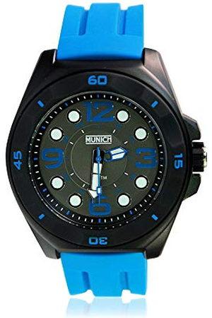 Munich Unisex dla dorosłych analogowy kwarcowy zegarek z silikonowym paskiem MU+112.2A