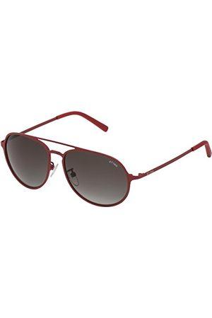 Sting Męskie okulary przeciwsłoneczne SST0045506F5, czerwone (Rojo), 55.0