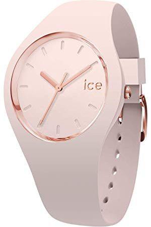 Ice-Watch Kobieta Zegarki - ICE glam colour Nude - różowy zegarek damski z silikonowym paskiem - 015334 (Medium)