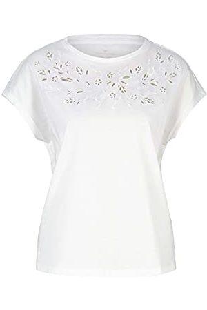 TOM TAILOR Kobieta Bluzki - Damski 1025271 Basic T-Shirt, 10315-Whisper White, XS