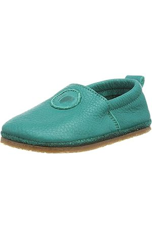 POLOLO Unisex niemowlęce stopy uniwersalne Outdoor turkusowe płaskie slipper, 20 EU