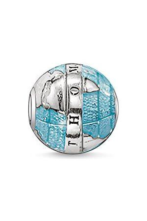 Thomas Sabo Kobiety mężczyźni koraliki cudowny świat karma koraliki 925 srebro Sterling poczerniały K0036-007-1