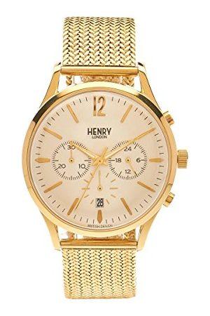 Henry Zegarek na rękę unisex Westminster chronograf kwarcowy stal szlachetna HL41-CM-0020