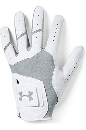 Under Armour Mężczyzna Rękawiczki - Męskie rękawiczki Tour Cool Golf Gants, szare (Steel), (rozmiar producenta: Lg)