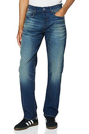 G-Star 3301-Relaxed dżinsy męskie, niebieskie (Worker Blue Faded A088-A88), 30W / 26L