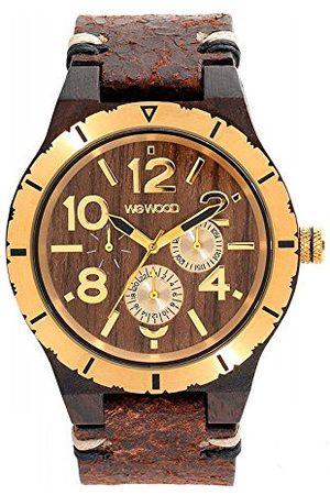 WeWood Męski analogowy zegarek kwarcowy Smart Watch ze skórzanym paskiem WW59001
