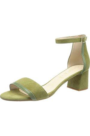 Gadea Damskie sandały Edy1143-72, zielony - Aloes Papiro - 42 EU