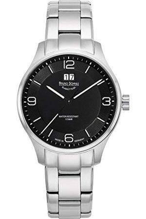 Soehnle Bruno Söhnle męski analogowy zegarek kwarcowy z bransoletką ze stali szlachetnej 17-13199-762