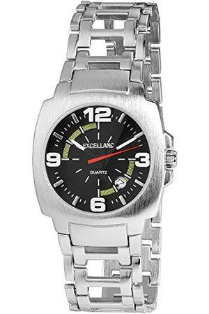 Excellanc Męski analogowy zegarek kwarcowy z różnymi materiałami bransoletka 284026000110