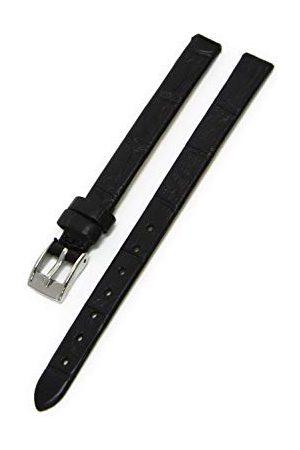 Morellato Bransoletka skórzana do zegarka unisex THIN czarna 20 mm A01D2860656019CR08