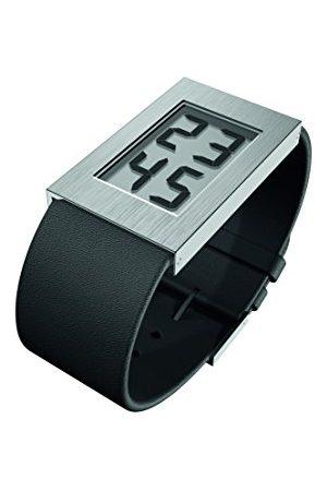 Rosendahl Męski cyfrowy zegarek kwarcowy ze skórzanym paskiem 43280