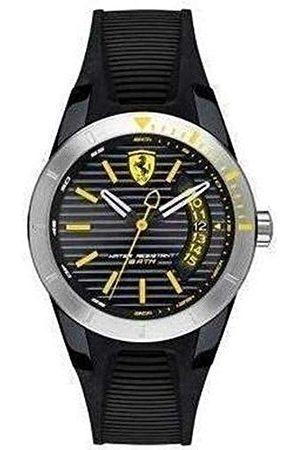 Scuderia Ferrari Orologi męski analogowy zegarek kwarcowy z silikonową bransoletką 0840015