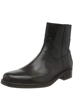 HUGO BOSS Coltom_zipb_ltgr męskie buty westernowe, - (Black1) - 45 EU