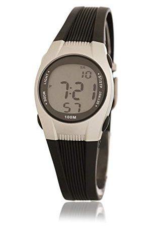 Dunlop DUN147L01 cyfrowy zegarek kwarcowy dla dorosłych unisex z gumową bransoletką